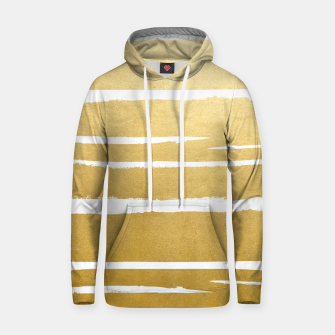 Gold Vibes Only Cotton hoodie thumbnail image