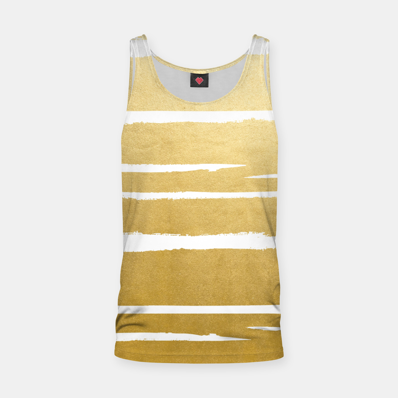 Image of Gold Vibes Only Tank Top - Live Heroes