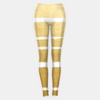 Thumbnail image of Gold Vibes Only Leggings, Live Heroes
