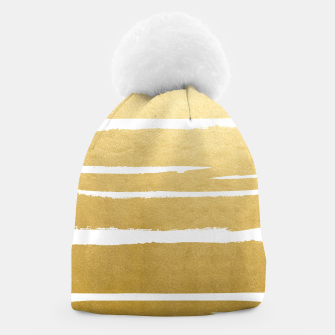 Thumbnail image of Gold Vibes Only Beanie, Live Heroes