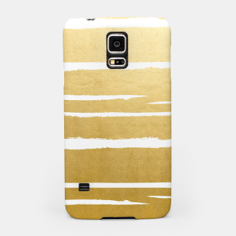 Gold Vibes Only Samsung Case thumbnail image