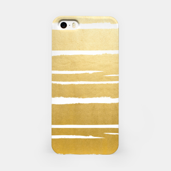 Gold Vibes Only iPhone Case thumbnail image