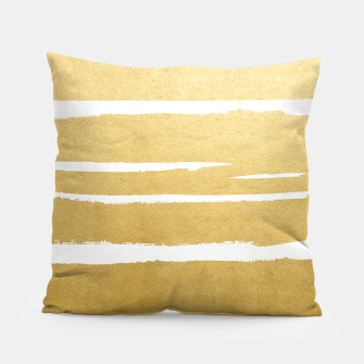 Gold Vibes Only Pillow thumbnail image