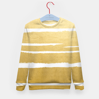 Thumbnail image of Gold Vibes Only Kid's sweater, Live Heroes
