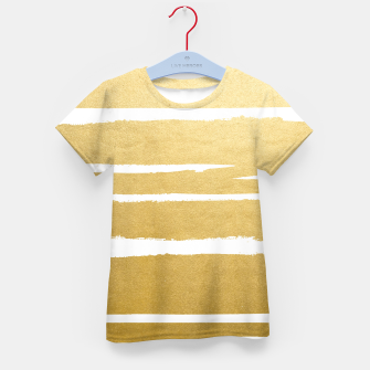 Thumbnail image of Gold Vibes Only Kid's t-shirt, Live Heroes