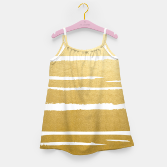 Thumbnail image of Gold Vibes Only Girl's dress, Live Heroes
