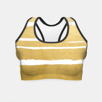 Gold Vibes Only Crop Top thumbnail image