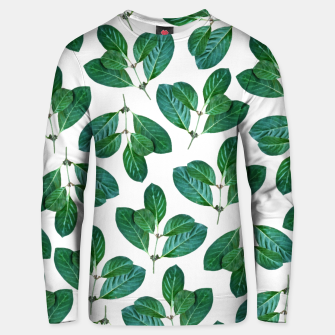 Thumbnail image of Lemon Leaf Cotton sweater, Live Heroes
