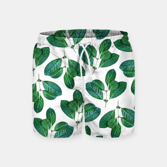 Thumbnail image of Lemon Leaf Swim Shorts, Live Heroes
