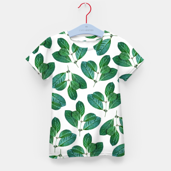 Thumbnail image of Lemon Leaf Kid's t-shirt, Live Heroes
