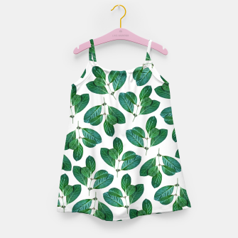 Thumbnail image of Lemon Leaf Girl's dress, Live Heroes