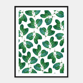 Thumbnail image of Lemon Leaf Framed poster, Live Heroes
