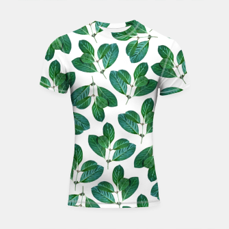 Thumbnail image of Lemon Leaf Shortsleeve rashguard, Live Heroes