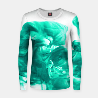 Thumbnail image of Breathe Woman cotton sweater, Live Heroes
