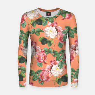 Thumbnail image of Juliet Woman cotton sweater, Live Heroes