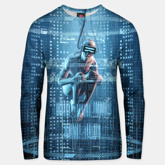 Thumbnail image of Virtual Dreams Reloaded Cotton sweater, Live Heroes