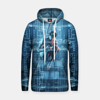 Thumbnail image of Virtual Dreams Reloaded Cotton hoodie, Live Heroes