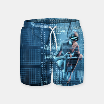 Thumbnail image of Virtual Dreams Reloaded Swim Shorts, Live Heroes