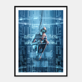 Thumbnail image of Virtual Dreams Reloaded Framed poster, Live Heroes
