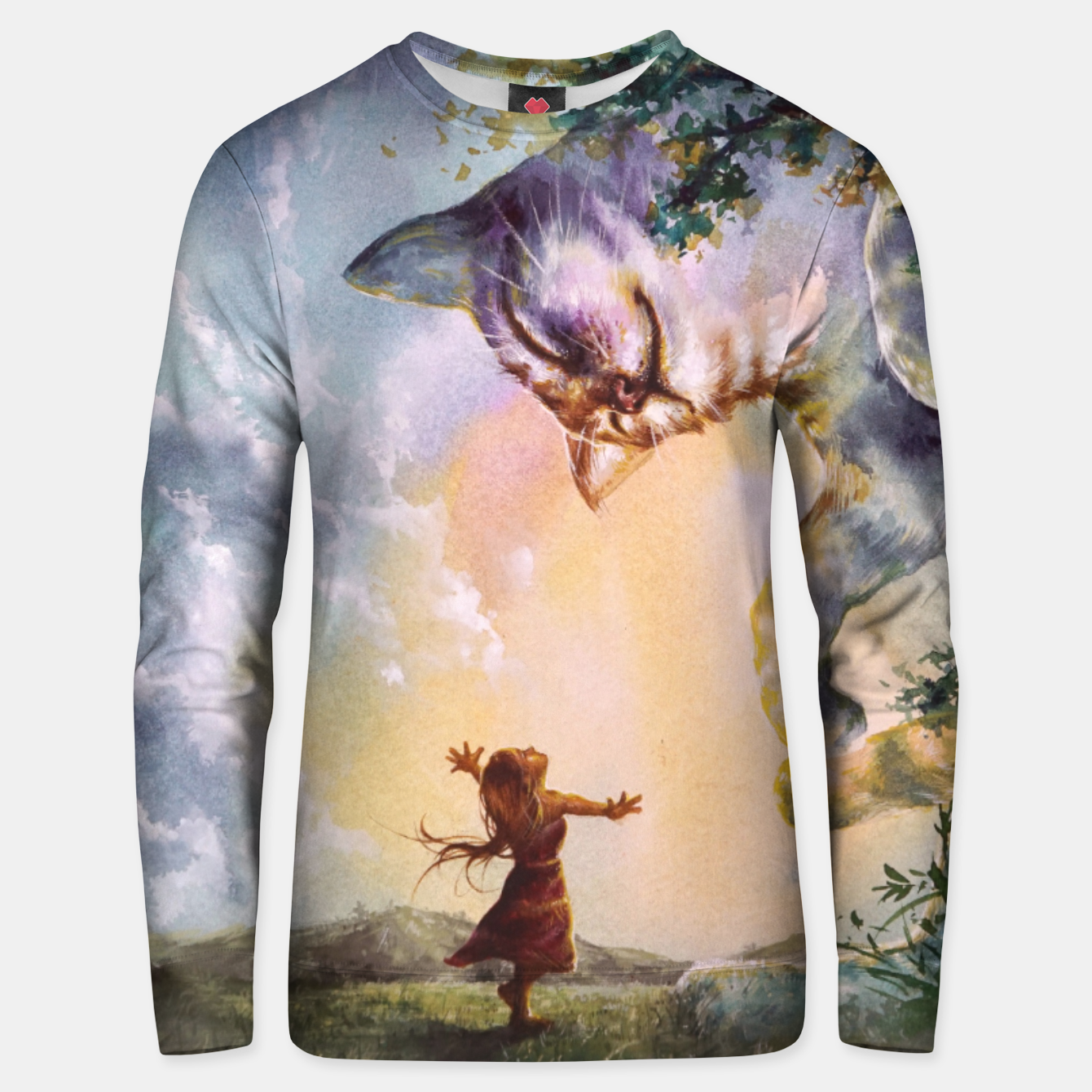 Image of The first story Cotton sweater - Live Heroes
