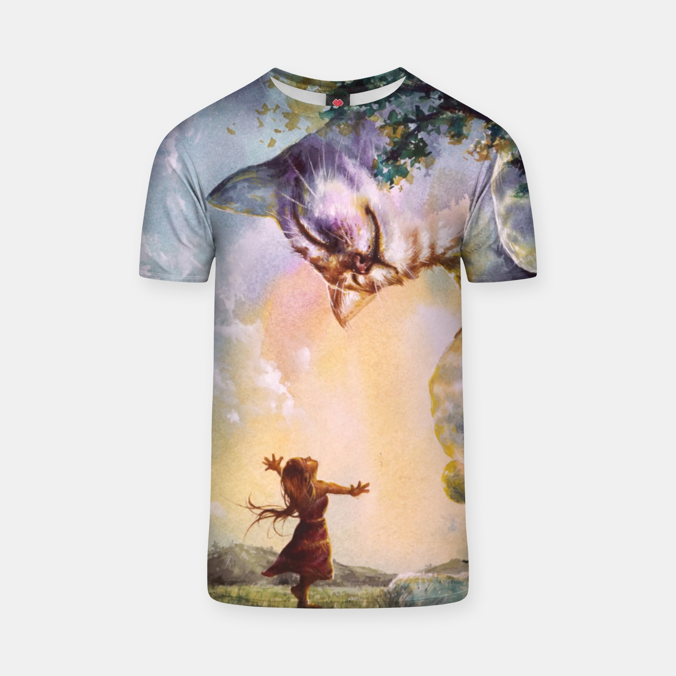 Image of The first story T-shirt - Live Heroes