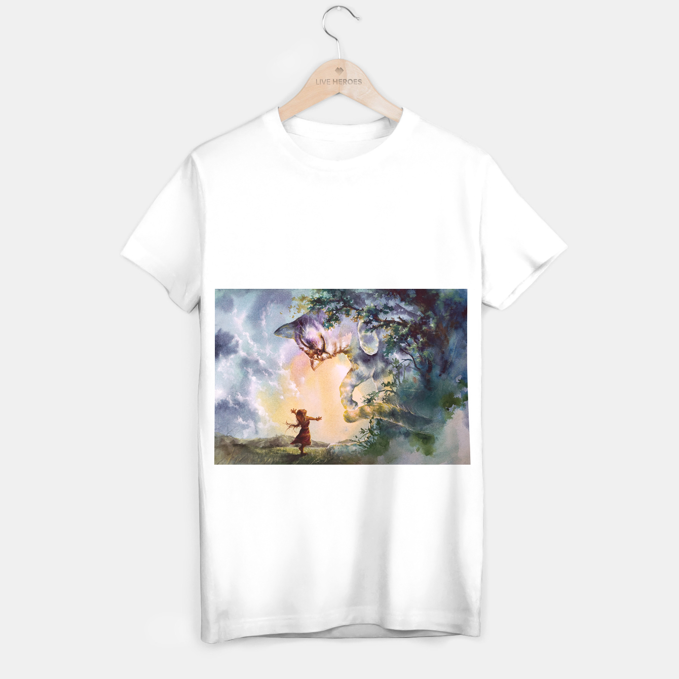 Image of The first story T-shirt regular - Live Heroes