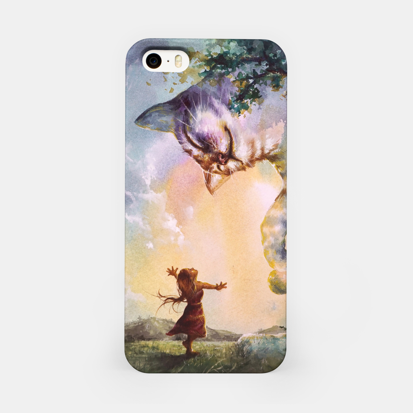 Image of The first story iPhone Case - Live Heroes