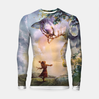 Thumbnail image of The first story Longsleeve rashguard , Live Heroes