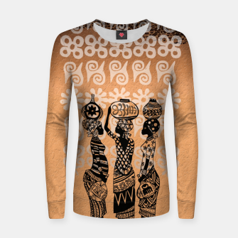 Thumbnail image of Black women Woman cotton sweater, Live Heroes