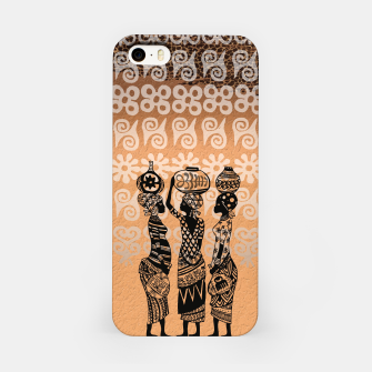 Thumbnail image of Black women iPhone Case, Live Heroes