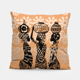 Thumbnail image of Black women Pillow, Live Heroes