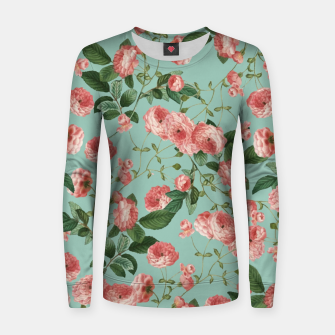 Thumbnail image of Rosy Life Woman cotton sweater, Live Heroes