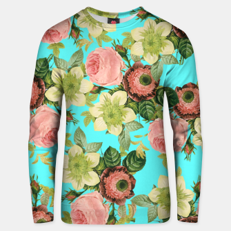 Thumbnail image of Hawaiian Flora Cotton sweater, Live Heroes