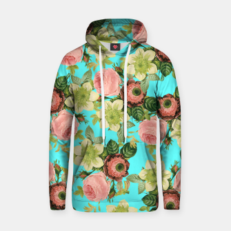 Thumbnail image of Hawaiian Flora Cotton hoodie, Live Heroes
