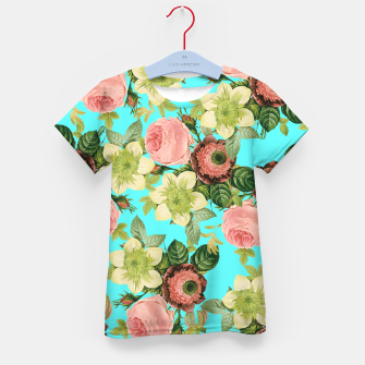 Thumbnail image of Hawaiian Flora Kid's t-shirt, Live Heroes