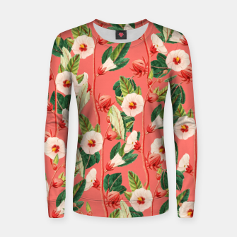 Thumbnail image of Desire Woman cotton sweater, Live Heroes