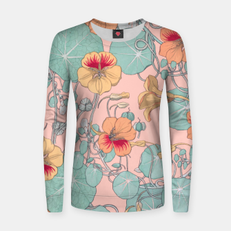 Thumbnail image of Lily Pond Woman cotton sweater, Live Heroes