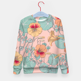 Thumbnail image of Lily Pond Kid's sweater, Live Heroes