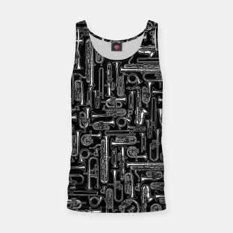 Thumbnail image of Horns B&W Tank Top, Live Heroes