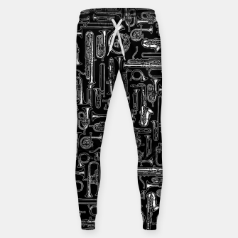 Thumbnail image of Horns B&W Cotton sweatpants, Live Heroes
