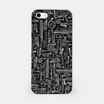 Thumbnail image of Horns B&W iPhone Case, Live Heroes