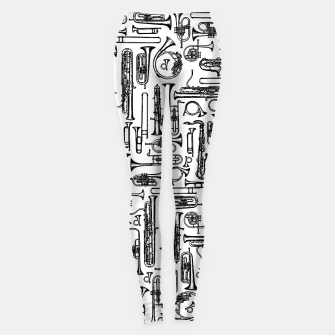 Thumbnail image of Horns B&W II Leggings, Live Heroes