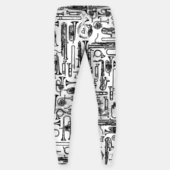 Thumbnail image of Horns B&W II Cotton sweatpants, Live Heroes