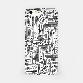 Horns B&W II iPhone Case thumbnail image