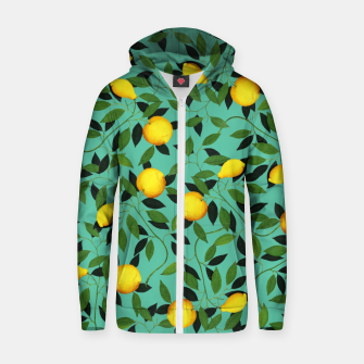 Luxuriance Cotton zip up hoodie thumbnail image
