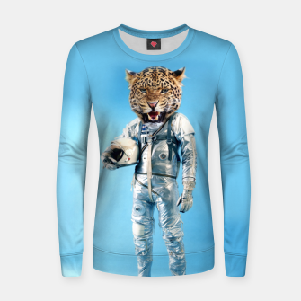 Imagen en miniatura de Astrolion Woman cotton sweater, Live Heroes