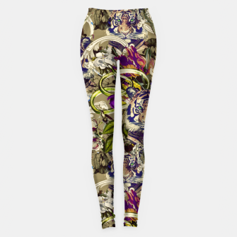 Miniatur Tiger in paradise 03-2 Leggings, Live Heroes