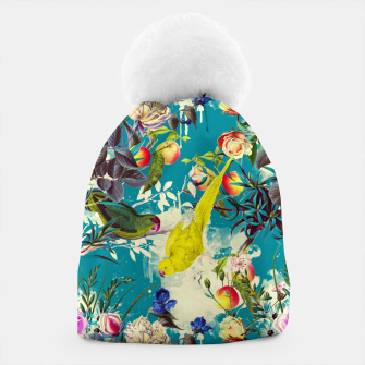 Tropical birds in the nature 010 Gorro miniature