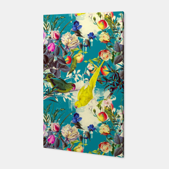 Tropical birds in the nature 010 Canvas miniature