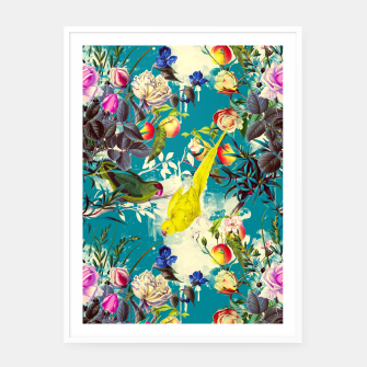 Miniature de image de Tropical birds in the nature 010 Cartel con marco, Live Heroes